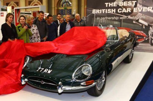 1961 E-type Jaguar
