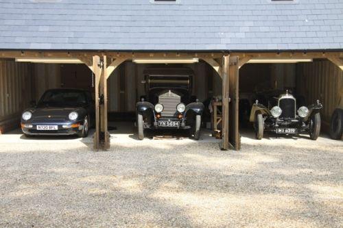 Garage display Porsche Rolls Vauxhall